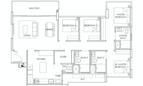 ola-ec-floorplan-4-bedroom-c1